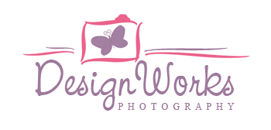DesignWorks Photography Pretty Logo